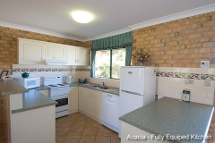 Acacia Apartments Fully Equipped Kitchen