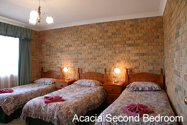 Acacia Apartments Second Bedroom